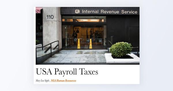 USA payroll taxes