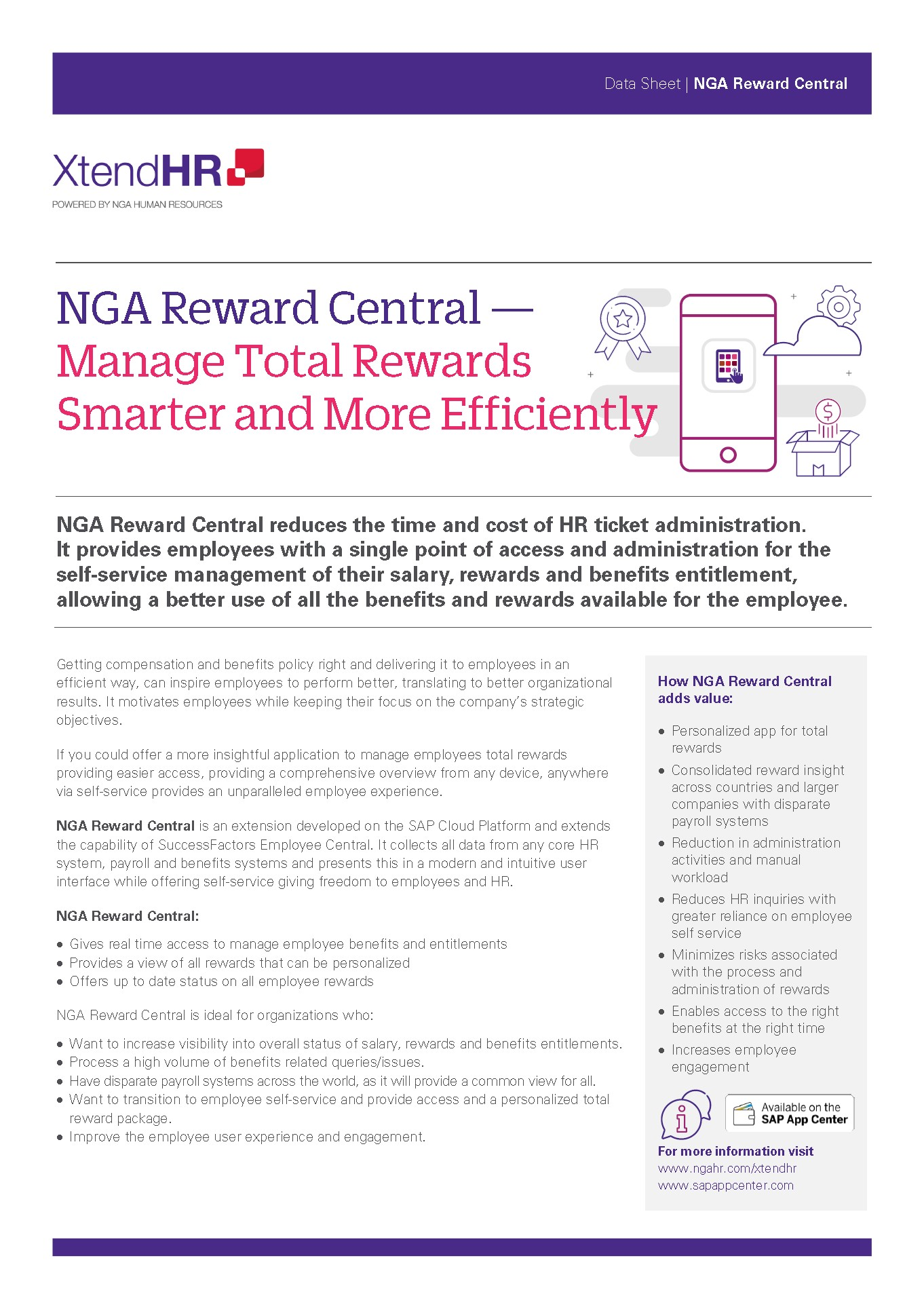 NGA Reward Central