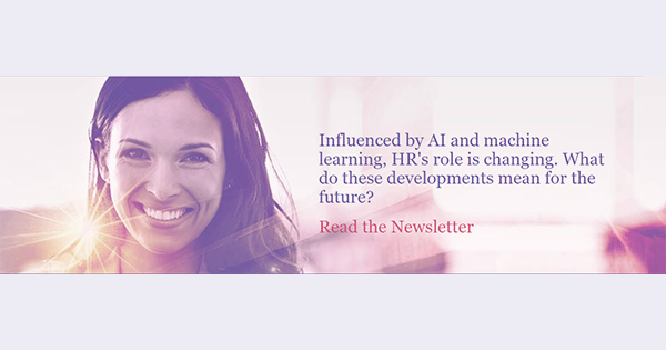 Influenced by AI and machine learning, HR's role is changing