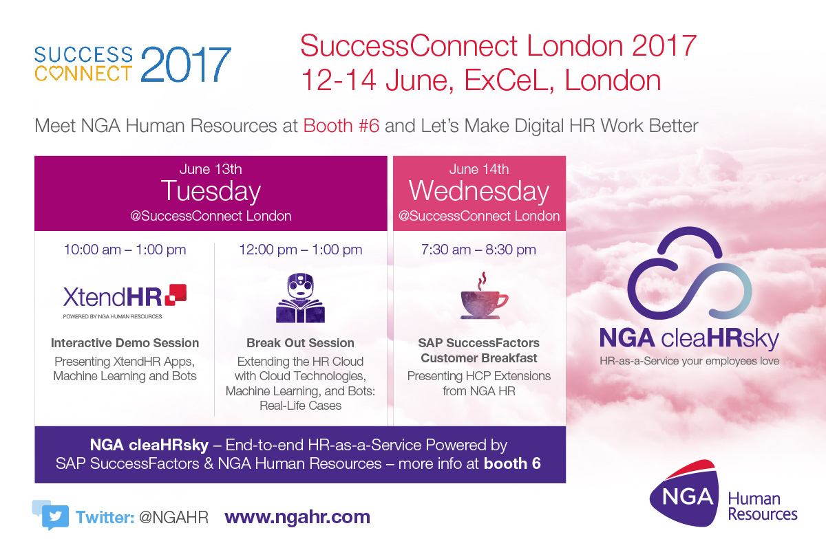 NGA Human Resources to bring the future of HR to you at