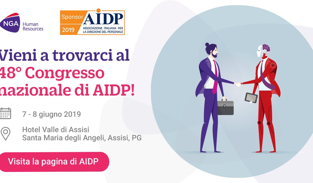 NGA Human Resources è Sponsor ufficiale di AIDP 2019!