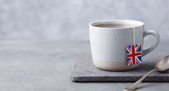 British tea break