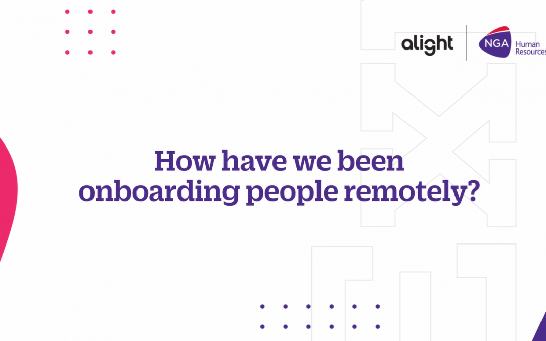 Remote onboarding: An employers view
