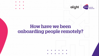 Our virtual onboarding experience