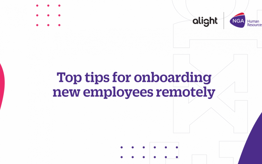 Top tips for onboarding new employees remotely