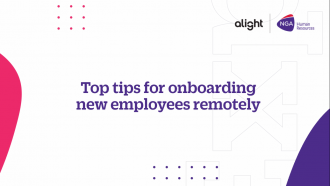 Top tips for onboarding remotely